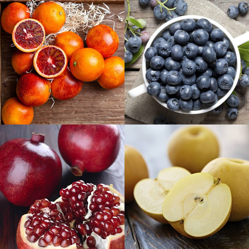 Each month, we ship your gift of exotic fruit right to the door of an adventurous fruit lover. Every delivery brings a fresh taste of intrigue: blood oranges, kiwi, champagne mangos, star fruit, pomegranate and more.