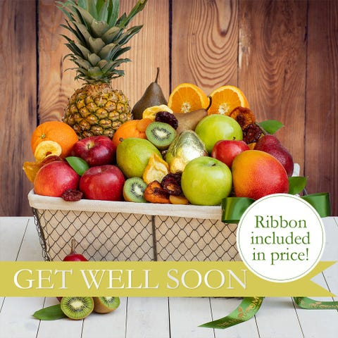 Grand Get Well Fruit Basket