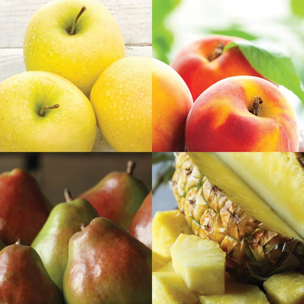 Our most popular monthly fruit club, delivered fresh from the orchard to your recipient each month. Send juicy Navel oranges, peaches, golden pineapples, Webster Comice pears, dark sweet cherries and more.