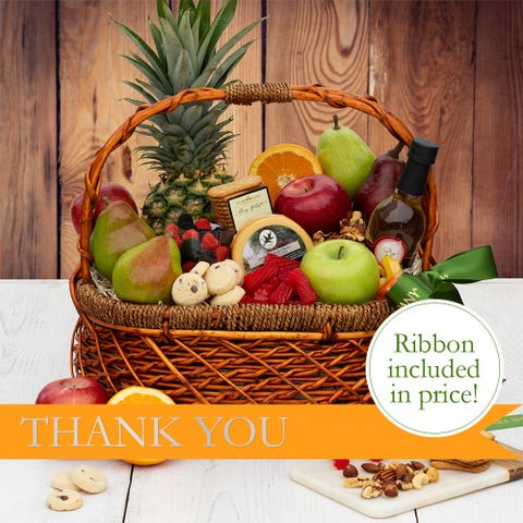 Grand Thank You Fruit Basket