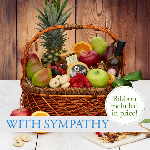 Heartfelt Condolence Fruit Basket