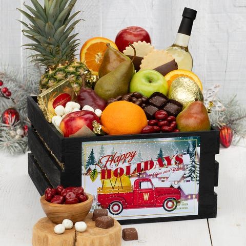 Sleigh Ride Gift Crate