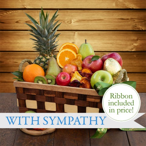 Thoughtful Sympathy Fruit Basket