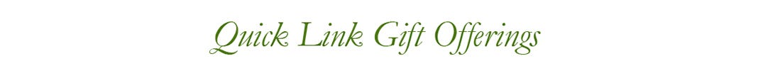 Quick Link Gift Offerings