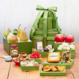 Sweet and Savory Gift Tower